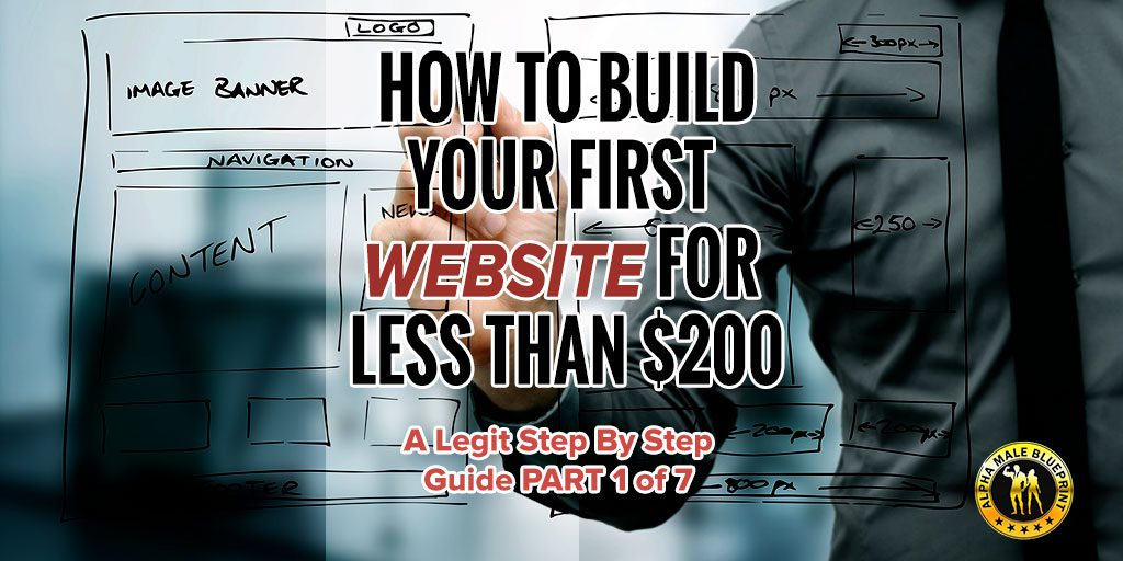 How to be an alpha male alphamaleblueprint how to build your first website for less than 200 a legit step by step malvernweather Gallery