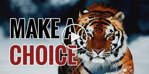 Make A Choice – Motivational Video 2016