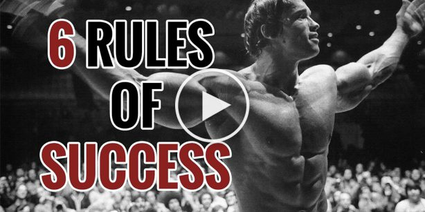 6 rules of success arnold